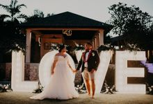 Halima & Tui by baliVIP Wedding
