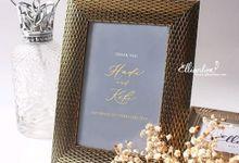 Wedding of Hadi & Keke by Ellinorline Gift