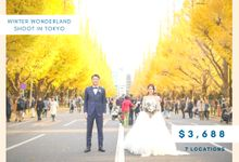 [PROMOTION] Winter Wonderland Shoot in Tokyo by The Wedding & Co