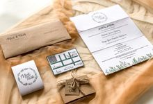 Undangan Pernikahan Mick & Tash by Moria Invitation