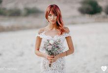 Red hair bride by oneweddingstory