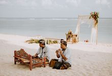 Katherine & Shawn's Wedding At Nusa Dua Beach by Amora Bali Weddings