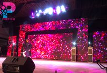 LED Backdrop In Chennai For Sangeet by LED Backdrop Chennai (Pixel Productions)