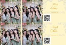 Fendi & Olivia Wedding by Foto moto photobooth