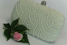 BRIDAL CLUTCHES by Pamela Falli