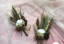 Boutonniere & Corsage by Rose For You