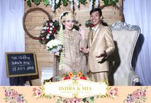 Indra & Mia Wedding by Foto moto photobooth