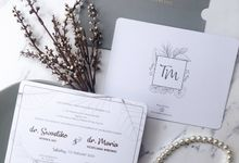 The Wedding of Tiko & Maria by SentimeterCard