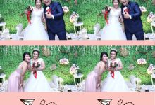 Laura & Barten Wedding by Foto moto photobooth