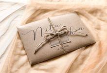 Undangan Pernikahan Nita & echon by Moria Invitation