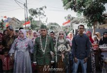 The Wedding of Rendra & Puput by Maharani Photography
