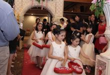 Wedding party of David and Shu Li at Angke Restaurant by Angke Restaurant & Ballroom Jakarta