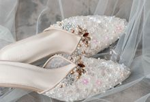 Rosy Brown for Bridal Shoes by Kasa The Label