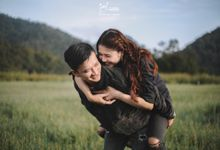 L. O. V. E Edward & Vina by Galcreative Pictures