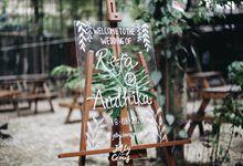 Dekorasi Akad Andhika dan Refa by jellycious.project