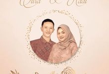 Citra & Hadi Digital Invitation - Sketch Package by Gai Shan Lab