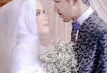 Modern international hijab wedding by SLIGHTshop.com
