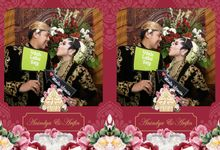 Arifin & Anindya Wedding by Foto moto photobooth