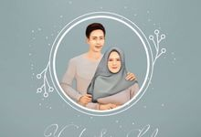 Lulu & Yayat Digital Invitation - Sketch Package by Gai Shan Lab