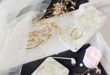 Customized Powerbank - Diana & Riza Wedding by PORTÉ by Clarin