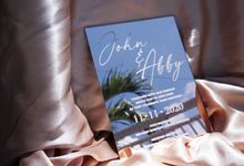 ROSE GOLD MIRROR ACRYLIC by Invitation by Pipin