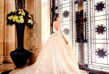 Royal Wedding Gown by Cang Ai Wedding