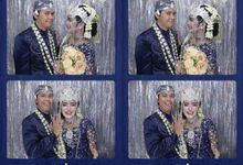 Putri & Jordy Wedding by Foto moto photobooth