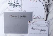 The Wedding of Alfian & Debby by SentimeterCard