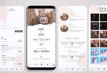 Online Web Invitation by akad.wedding - undangan online / invitation web