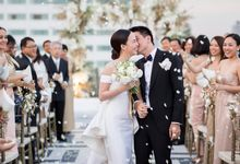 Pim and Name Rooftop Wedding by The Wedding Bliss Thailand