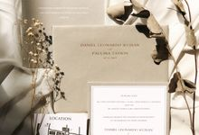 The Wedding of Daniel & Paulina by SentimeterCard