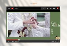 The Wedding of Tata & Abduh by acg stream