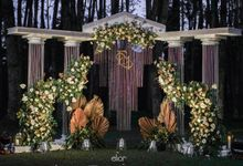 The Greek Goddess Themed Wedding of Edo and Marshella by Elior Design