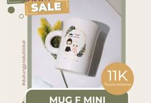 FLASH SALE MUG F MINI WEDDING SOUVENIR by Mug-App Wedding Souvenir