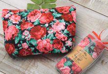 pouch katun motif by Plung Creativo