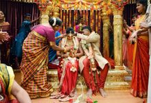 Traditional Indian Wedding of Arunn & Shalini by GrizzyPix Photography