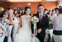 Swissotel the Stamford Wedding by GrizzyPix Photography