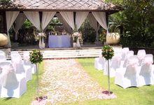 Venue - Floating Garden by Conrad Bali