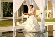 White Wedding Pergola by Dekor Indonesia