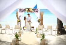 Beach Wedding at The District Boracay by The District Boracay
