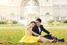 Prewedding hair and makeup by Elly Liana Makeup Artist