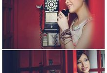 Therene + Andrew Prewedding by Moisel Makeup