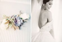 Indah & Robin Cultural Bali Wedding by Flying Bride