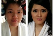Before and After by Elly Liana Makeup Artist