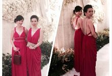 Dress for Sisters by costura bride and evening wear