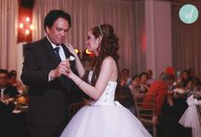 Allan & Jane ties the knot by Nadine Rayo Hair and Makeup Artistry