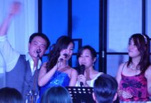 ShiLi & Adi feat John Lye (4-piece band) at Rasa Sayang Shangrila in Penang by Merry Bees Live Music