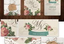 Miki & Nino Wedding Invitation by Memento Idea