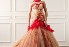Classy Red Prewedding Gown Rooya Couture by Rooya Couture