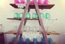 Vases, Bottles & Jars by The Wedding Shop